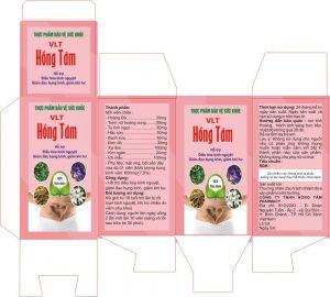 Tem nhãn sản phẩm đối với hồ sơ công bố Thực phẩm chức năng, Thực phẩm báo vệ sức khỏa